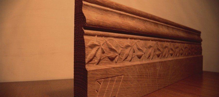 Бизнес идея: производство деревянных плинтусов
